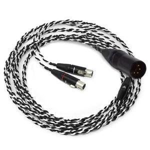 Audeze Premium Balanced 4-Pin XLR Audio Cable for LCD Series - 2.5m