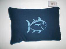 Almohadas azules de 100% algodón