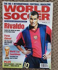 New listing World Soccer Magazine - December 2001 (Football Magazine) Rivaldo
