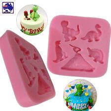 Dinosaur Silicone Mold Mould Fondant Cake Chocolate Decorating Tool HKIM61005