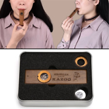 To Use Simple Construction Wooden Mouth Flute Instruments Wood Harmonica Kazoo