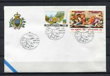 S16195) San Marino 2002 Cover 13 ^ Show Mycological Del Titan Mushrooms