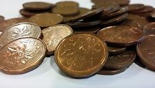 FULL ROLL 1987 CANADA ONE CENT PENNIES CIRCULATED