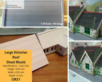 Victorian roof sheet mould - Model Railway Scenery OO Scale - CM21