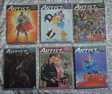 COMIC BOOK ARTIST (VOLUME 2) n°1 à 6 / LOT / TOP SHELF EDITEUR
