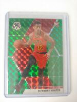 2019-2020 Mosaic Rookie Green & Red Prizm De'Andre Hunter Hawks
