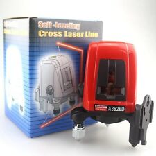 Acuangle A8826D Laser Level 360 degree Self- leveling 2 Red Cross Line 1 Point