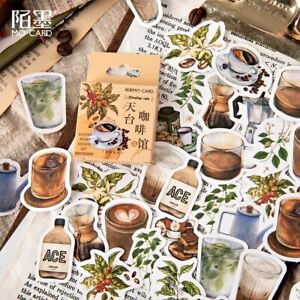 Kitchen Coffee House Cup Wall Sticker Lot Vinyl Decal Mural Home Decor Scrapbook