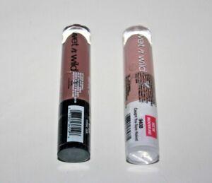 Wet n Wild Megalast Liquid Catsuit Lipstick #940B + #972A Lot Of 2 Sealed