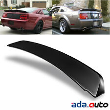 Black Ducktail Style Rear Trunk Spoiler for 2005-2009 Ford Mustang GT500
