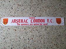 d4 sciarpa ARSENAL FC football club calcio scarf bufanda england inghilterra