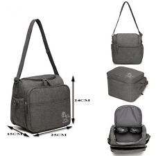 Small Size Baby Diaper Bag Moms Bag with Insulated Organizer Pockets