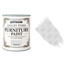 Rust-Oleum craie crayeux MEUBLE PEINTURE usé chic 125ml hiver gris mat