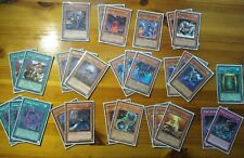 Yugioh Cards Zombie Starter Deck Lot 30 Cards Total