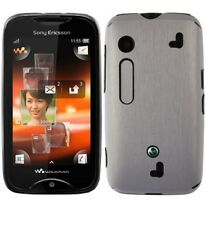 Skinomi Brushed Aluminum Skin+Screen Protector for Sony Ericsson Mix Walkman