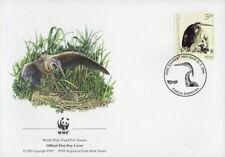 WWF  UCCELLI  FDC CROAZIA BUSTA PRIMO GIORNO 2004 AIRONE  3/4