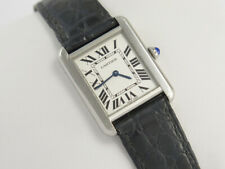 CARTIER TANK SOLO 2716 STEEL WATCH