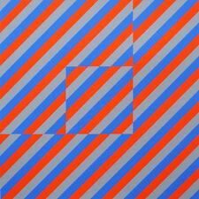 50% Anton Stankowski, handsigniert, num., e.a. 1995, Konkrete Kunst, VP 380,-