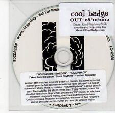 (DD430) Two Fingers, Sweden - 2012 DJ CD