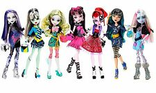 Gorgeous *NIB* MONSTER HIGH Complete PICTURE DAY Collection ~ 7 Dolls