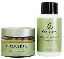 Cosmedix Deep Sea Peel 1.oz and Activator 1.7oz Prof Fresh New