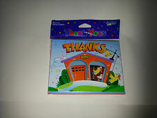 8 x thank you cards with envelopes ( fire station)