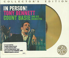 Bennett, tony en personne with Count Basie a master sound Gold CD sbm nouveau OVP sealed