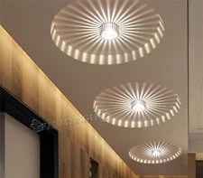 White 3W LED Aluminum Ceiling Light Fixture Pendant Lamp Lighting Chandelier