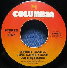 JOHNNY CASH & JUNE CARTER CASH: Old Time Feeling/ Far Side Banks of Jordan ~45~