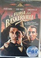 LA FURIA DEI BASKERVILLE DVD NUOVO SIGILLATO FUORI CATALOGO RARISSIMO
