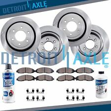 Front & Rear Rotors + Ceramic Pads 2003 2004 2005 2006 Ford EXPEDITION NAVIGATOR