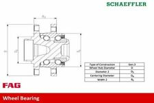 FAG 713 6496 00 WHEEL BEARING KIT Front