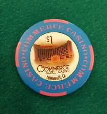 Authentic Collectable Casino Poker Chip / Tournament / WSOP / Vegas & California