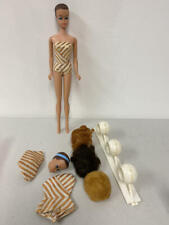 VINTAGE FASHION QUEEN BARBIE DOLL WITH WIGS & SWIMSUIT