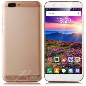 "5.5"" Luxury 4G LTE Smartphone Unlocked Android 1+16G Quad Core 2SIM Mobile Phone"