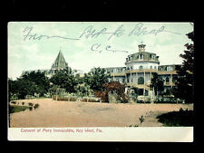 1907 Convent of Mary Immaculate Key West FL post card