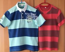 s.Oliver § Esprit 2x T-Shirt Gr 140 / 146   ROT / BLAU