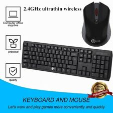 Splashproof Adjustable Gaming Wireless Keyboard Mouse Combos Combination Set