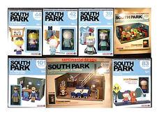 McFarlane South Park COMPLETE 7 Construction Set Lot CLASSROOM+BASEMENT+5 Lego