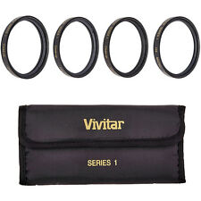 Vivitar 95mm 4pc HD Macro Close-UP Lens Filter Set +1 +2 +4 +10 (VIV-CL-95)