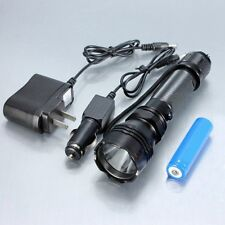 LED Flashlight Torch Lamp 500 Lumen K8 with 18650 Battery & Car Charger 3 Mode