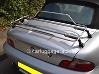 BMW Z3 Luggage Boot Rack - Stunning Stainless Steel Rack