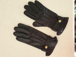 Longchamp gloves Cuir Agneau Size 7,5