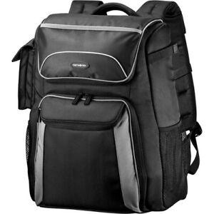 NEW Samsonite 49964-1062 Backpack Camera Bag BLACK/GRAY