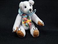 "World of Miniature Bears 2.5"" Plush Birthday Bear March #589 Collectible Bear"