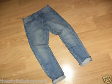 Designer CHEAP MONDAY 'Thrift' Boyfirend / Rrelaxed Jeans Size: 29W / 32L NEW