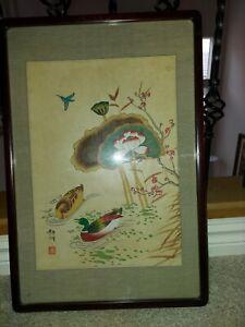Korean Minwha mandarin duck & Lotus & more