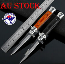 SOG Outdoor Stiletto Knife Italian Folding Blade Pocket Tactical Hunting Camping
