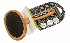 Essential Dog | Bamboo Slicker Brush for Dogs & Cats Medium to Large