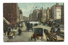 Holborn, London - Looking East, street scene - postcard from 1917